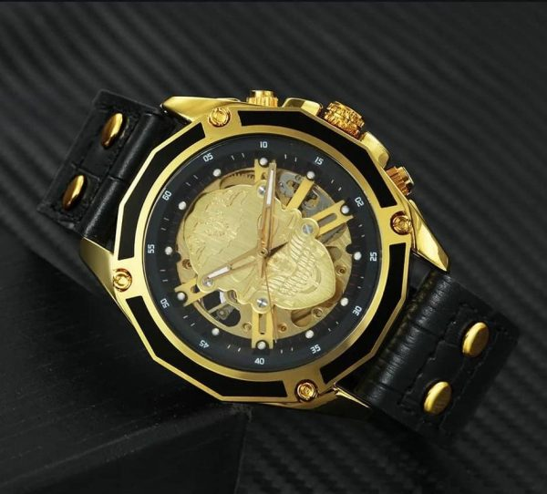 Skull chic skull watch 3 colors possible