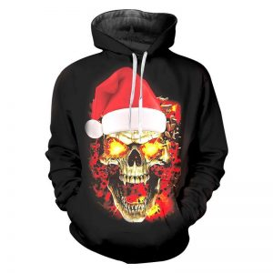 sweat head of dead fire of christmas 4xl