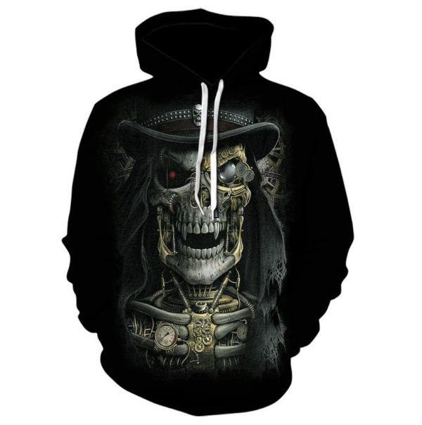 sweat head of dead steampunk 4xl skull kingdom