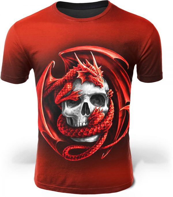 t shirt head of dead dragon infernal qw178 mr at sell