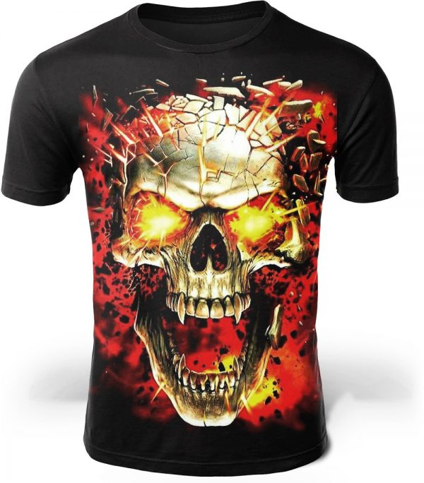 t shirt head of dead explosion deadly 4xl buy