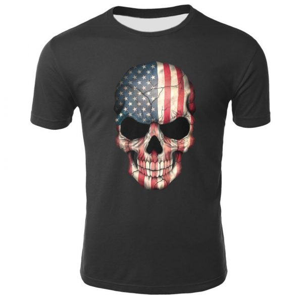 t shirt head of dead flag american 3xl at sell