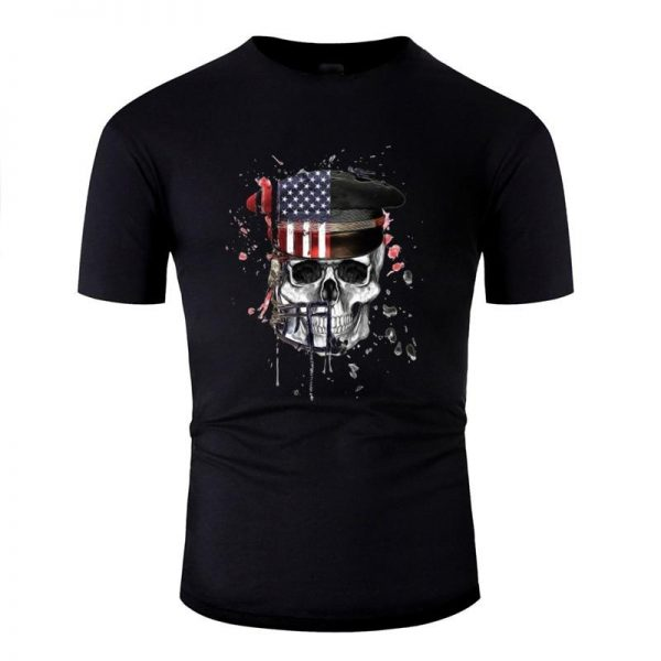 t shirt head of dead flag usa 3xl clothes head of death