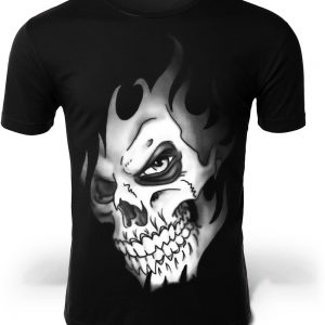 t shirt head of dead flame of darkness 5xl
