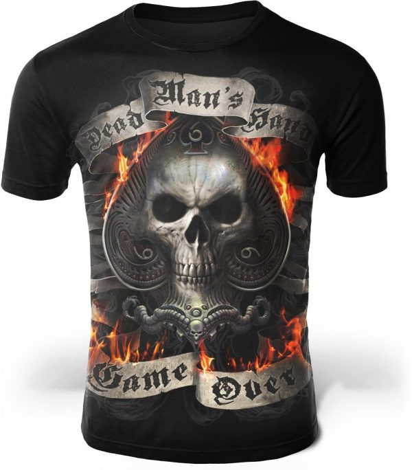 t shirt head of dead game over 4xl at sell