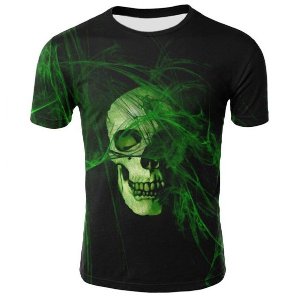 t shirt head of dead green abstract 3xl buy