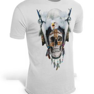 t shirt head of dead indians of america 3xl skull kingdom