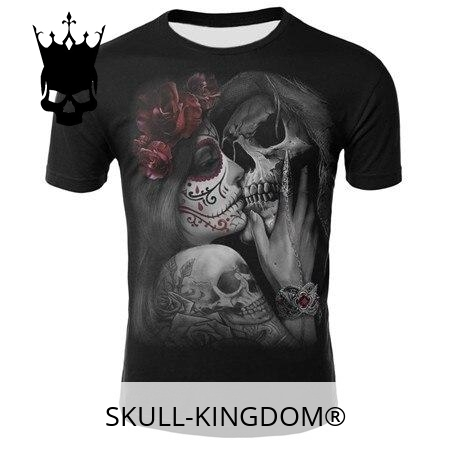 t shirt head of dead kiss of the dead xxl price