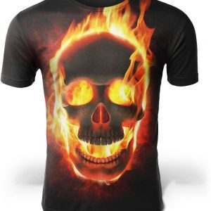 t shirt head of dead look infernal xs