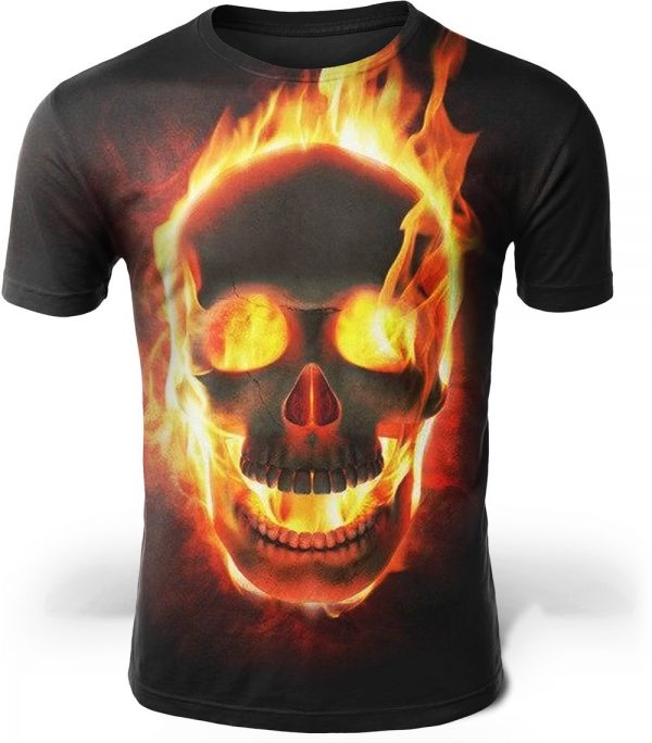 t shirt head of dead look infernal xs at sell