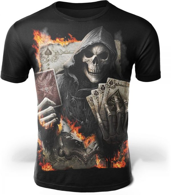 t shirt head of dead mower cards picture color 6 4xl tee shirt head of death