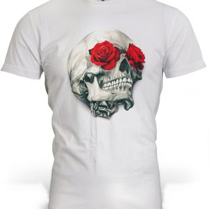 t shirt head of dead pink red 3xl buy