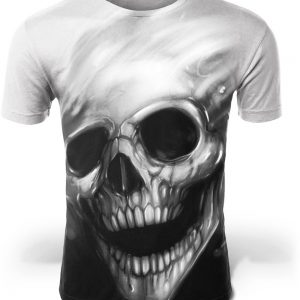 t shirt head of dead skull 4xl not dear