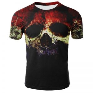 t shirt head of dead skull abstract 3xl at sell
