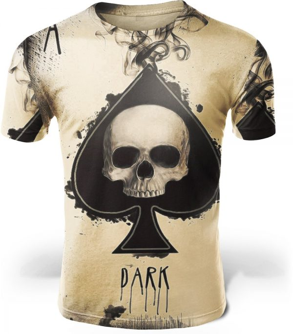 t shirt head of dead skull fashion 4xl at sell