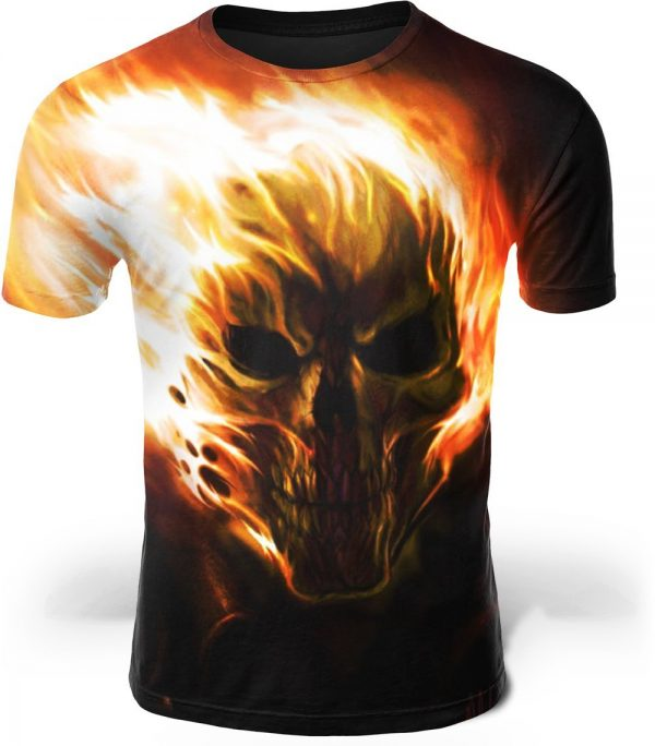 t shirt head of dead skull inflamed 4xl skull kingdom