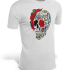 t shirt head of dead skull mexican 3xl buy