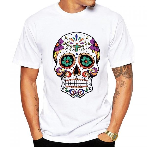 t shirt head of dead skull mexican 3xl price