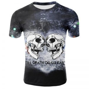 t shirt head of dead skulls twins 3xl t shirt head of death