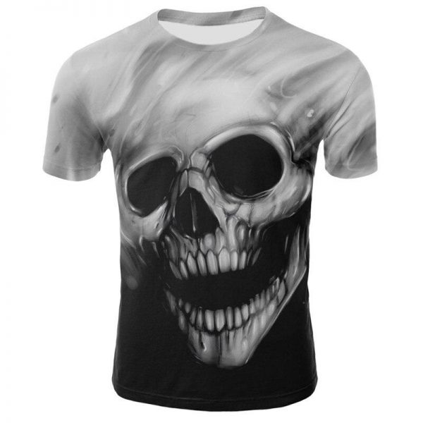 t shirt head of dead strength of darkness xxl clothes head of death
