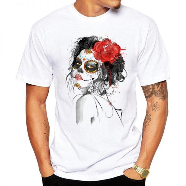 t shirt head of dead the catrina for man 3xl price