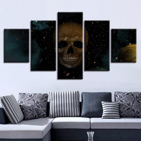table head of dead universe dark format xxl with frame at sell