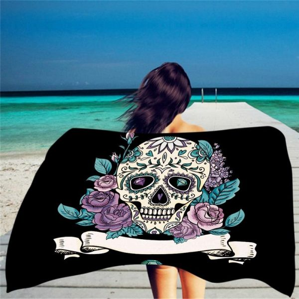 towel of beach head of dead skull mexican price