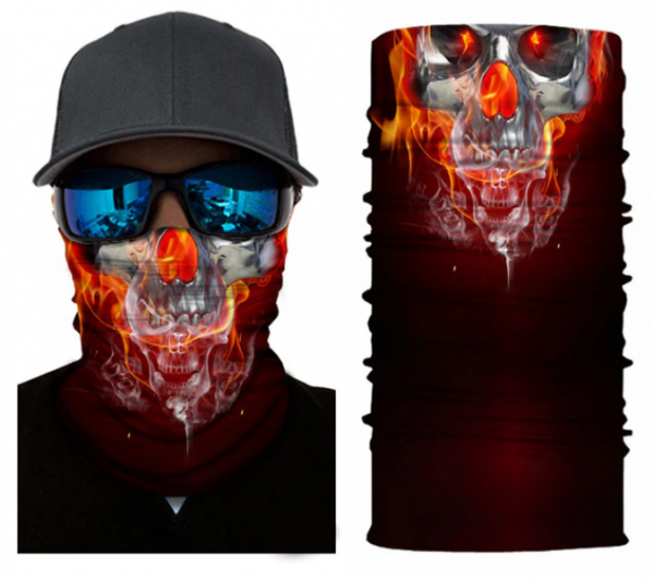 tower of neck head of dead skull in fire price