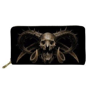 wallet head of dead baphomet not dear