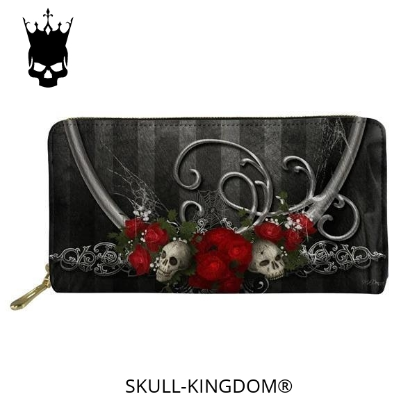 wallet head of dead flowers of wrong