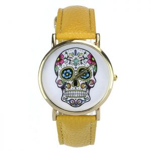 watch head of dead mexican 8 colors yellow buy