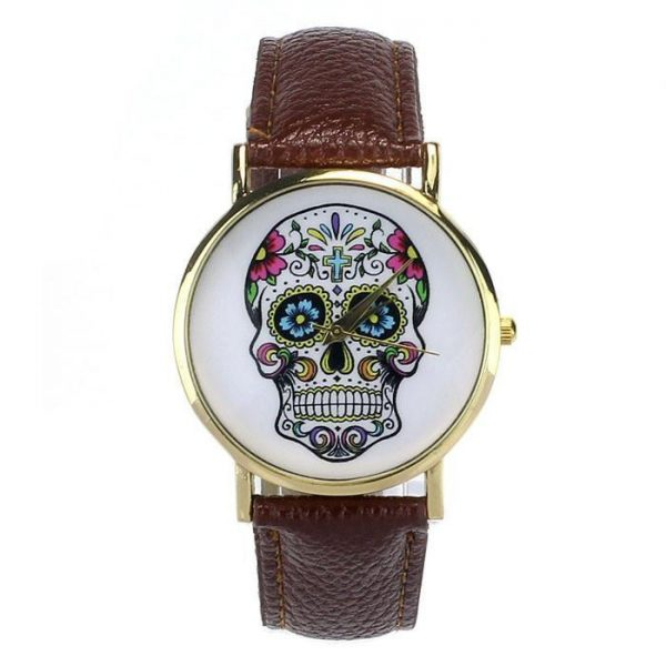 watch head of dead mexican 8 colors yellow not dear