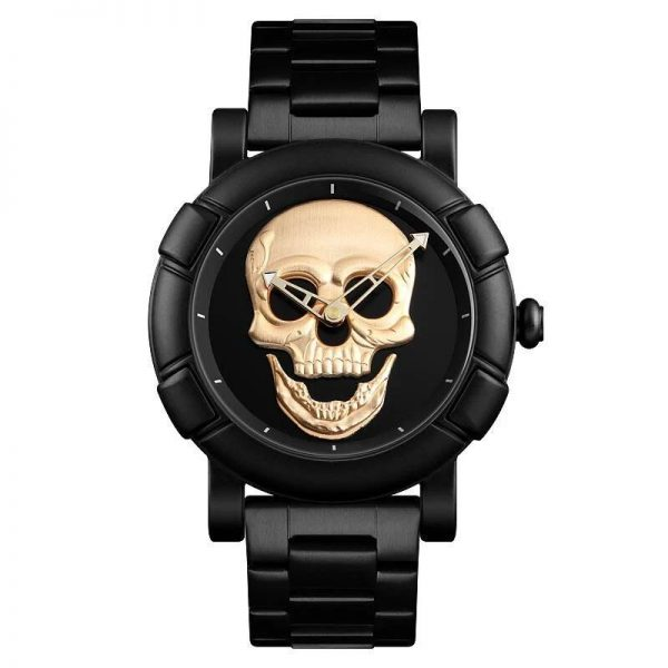 watch head of dead skull 3 colors black price