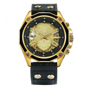watch head of dead skull chic 3 colors black watch head of death