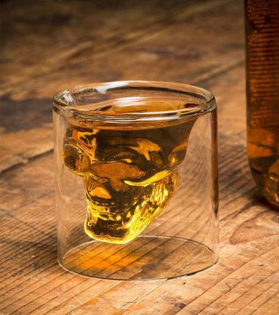 glass head of dead shoot lot of 2 rooms 150ml accessory head of death